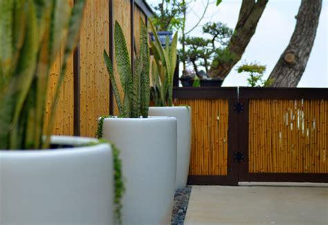 sichtschutz diy bambus im garten diy sichtschutz f 252 r die terrasse
