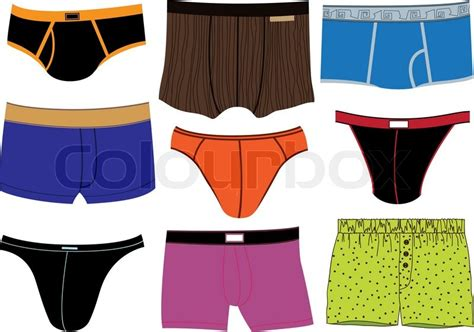 man underpants stock vector colourbox