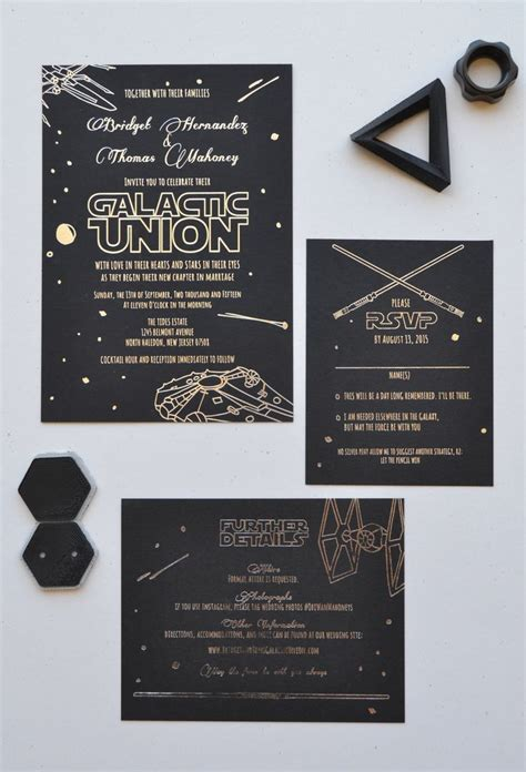 Wars Wedding Invitations