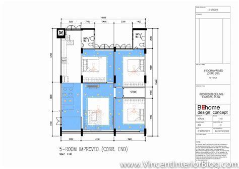 Yishun 5 room HDB renovation by Interior Designer Ben Ng ? Part 4 ? Quotation, Perspectives
