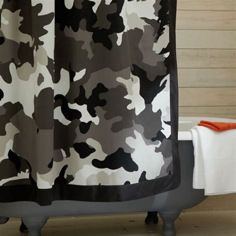 camouflage shower curtains sale camo shower curtain pbteen