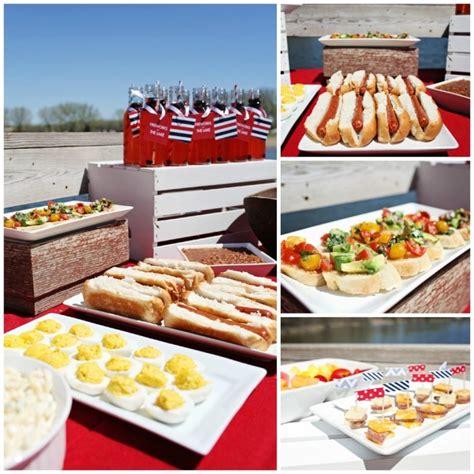 backyard party menu image gallery outdoor party food