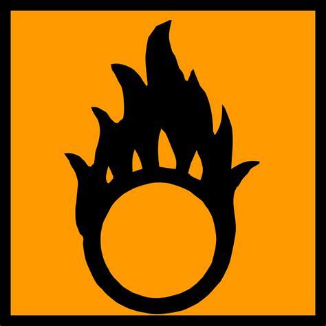 oxidizer oxidant flame  vector graphic  pixabay