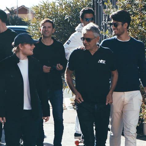 ed sheeran perfect feat andrea bocelli ed sheeran teams up with andrea bocelli and it s perfect
