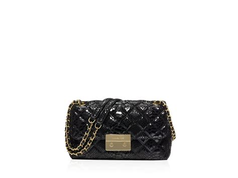 Michael By Michael Kors Ranger Patent Bag by Michael Michael Kors Large Sloan Quilted Patent Embossed