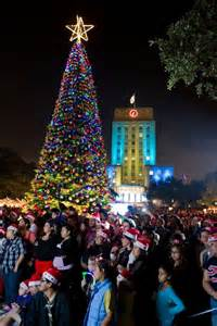 houston city hall christmas tree lighting 2013 365