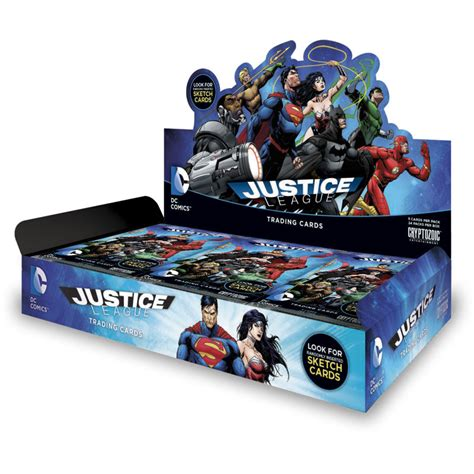 Justice E Gift Card - dc comics justice league trading cards cryptozoic entertainment