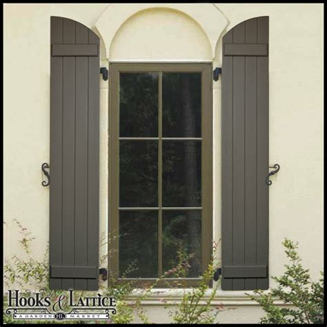 Outdoor Shutters Board And Batten Shutters Exterior Shutter Panels Hooks