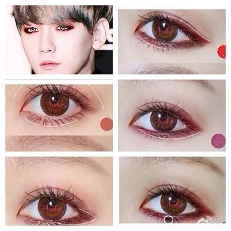 tutorial make up idol korea exo s baek hyun makeup tutorial lolita makeup