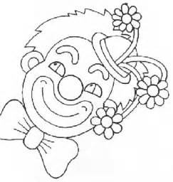 Clown Coloring Page clowns coloring pages coloringpages1001
