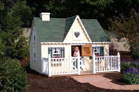 Cottage Playhouse Plans by Diy Playhouse Kits Childrens Playhouse Kits Cottage Plans