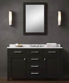 Pvc Vanity Cabinets Blk02 55 Wooden Bathroom Vanity Cabinet In Black Color