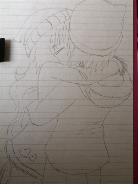 cute cuple hug and kissing sketch pics my cute couple drawing by toxicraspberry on deviantart