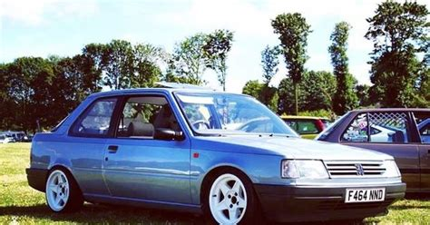 peugeot 405 modified nicely modified 309 gti peugeot 309 pinterest