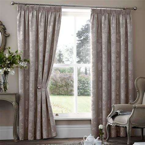 making thermal curtains floral jacquard thermal curtains pair ready made