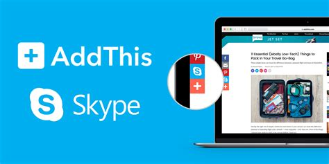 better than skype on skype becomes even better with addthis skype
