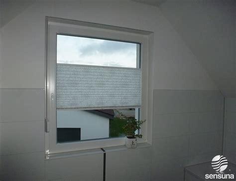 sichtschutz für badfenster badezimmer rollo design