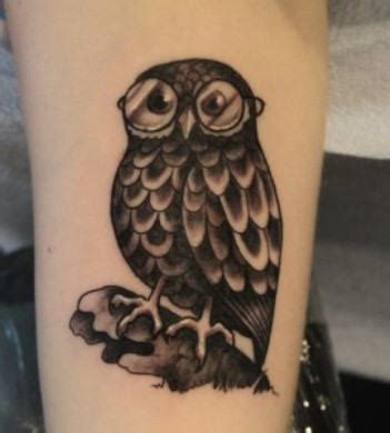 black owl tattoo design owl tattoos page 6