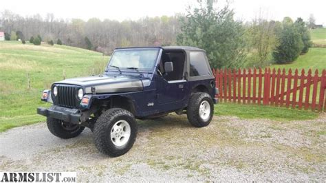 97 jeep wrangler accessories armslist for trade 97 jeep wrangler