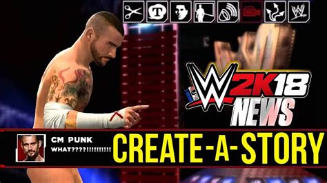 Update On The Story by 2k18 News Create A Story Mode More Update
