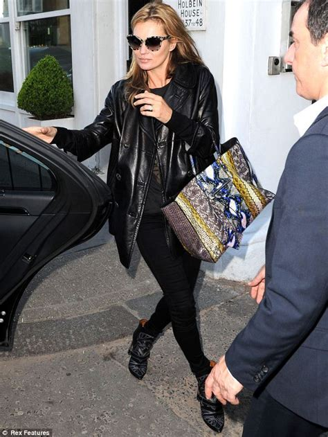 Name That Purse Kate Moss by Kate Moss Takes A Walk On The Side With Snakeskin Bag