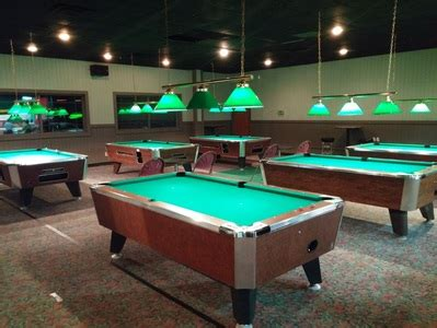 Backyard Bowling Pool Table Billiards Pool Tables At Inman S In Valparaiso In
