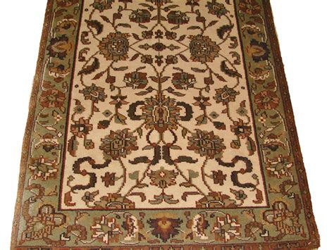 Clearence Rugs by Knoted Ivory Beige Aqua Lt Green Colors