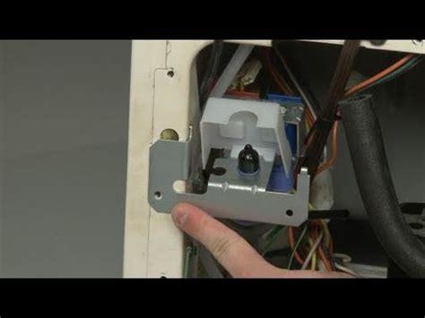 fridge water inlet valve replacement – how to repair ge