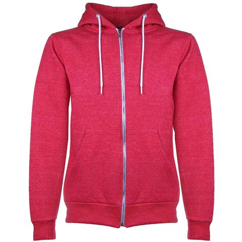 Vest Zipper Hoodie Ac Milan 7 mens plain hoodie fleece knit zip up hoody jacket hooded sweatshirt zipper top ebay