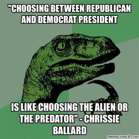 Republican Meme - democrat vs republican