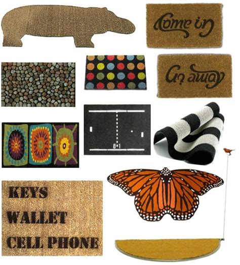 stylish doormats stylish front door mats popsugar home