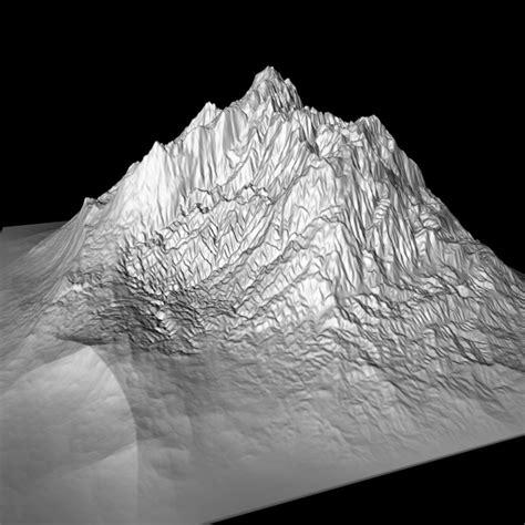 mountain models rocky mountain range peak high poly 3d model cgstudio
