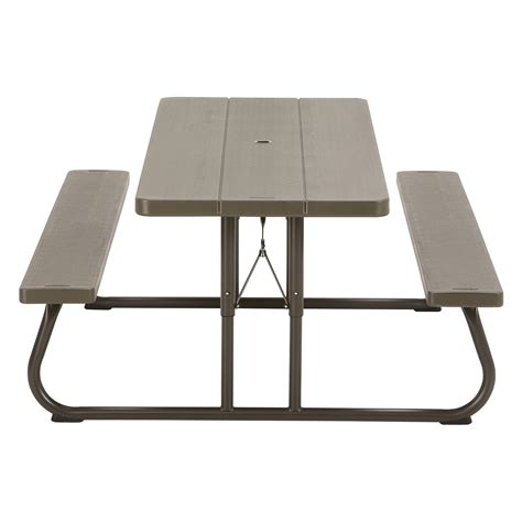 lifetime 6 ft folding table lifetime products 6 ft folding picnic table white ebay