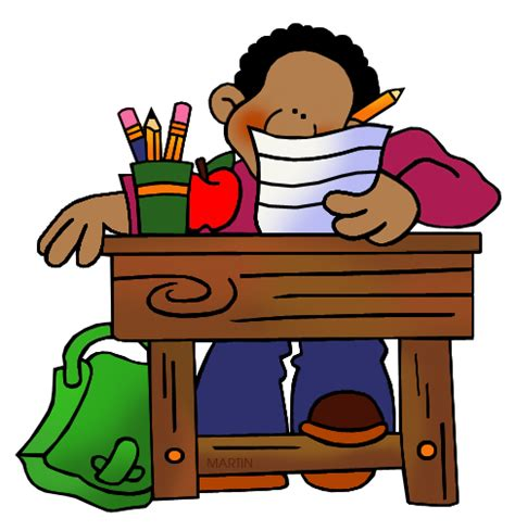 student desk clipart student at desk clipart clipartsgram