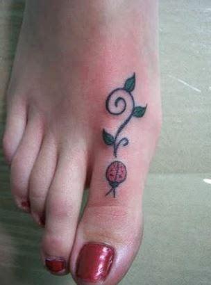 Bid Significato by Tatuaggio Coccinella Con Foglioline The House Of