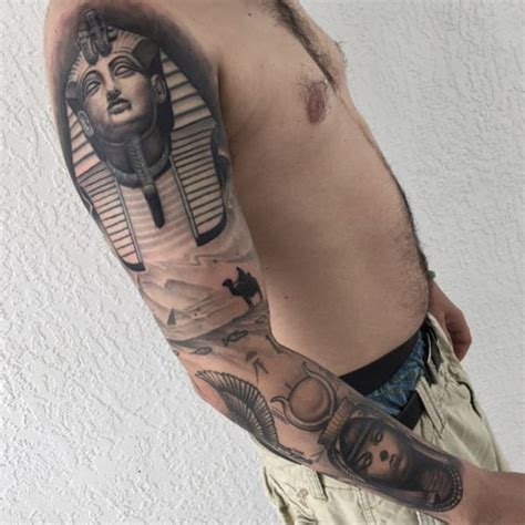 christian egyptian tattoo 50 best egyptian tattoos that are bold and fierce