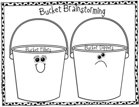 bucket filler coloring page coloring home