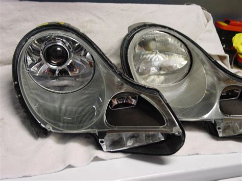 porsche headlights at night diy bi xenon headlight conversion really can be done