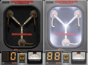 Official back to the future flux capacitor app for the iphone ipad