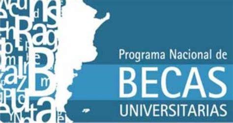 programa nacional de becas bicentenario programa nacional de becas universitarias pnbu 17