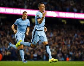 Plnu Mba Reviews by Stevan Jovetic Guides Manchester City To 3 1 Win
