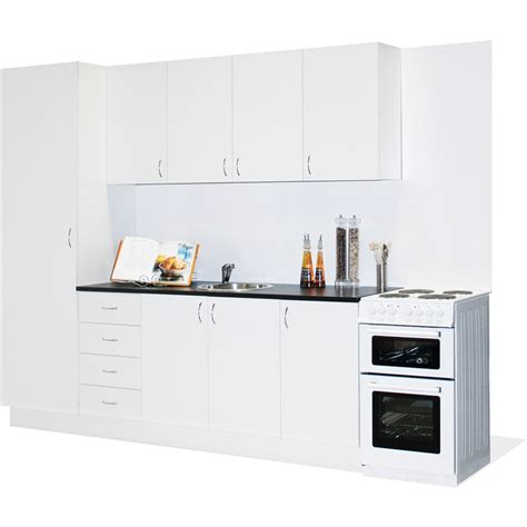 bunnings kitchen cabinets marquee straight line modular kitchen bunnings warehouse