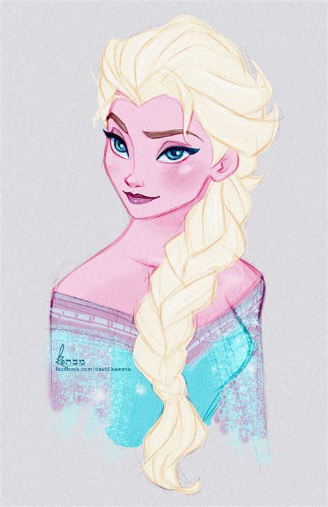 drawings of elsa from frozen disney s frozen elsa fast colour sketch by