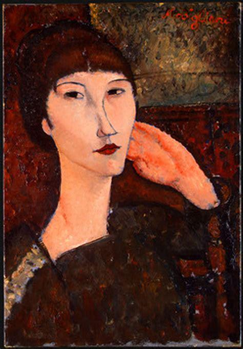 modigliani woman with a adrienne woman with bangs amedeo modigliani wallpaper image