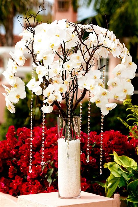 Phalaenopsis Orchid Centerpiece Planning Our Wedding Planning Tip Of The Day On Cost Saving Choose