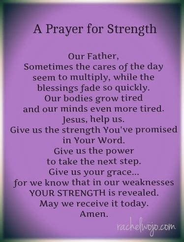 a prayer for strength | ann a friend of jesus 2013