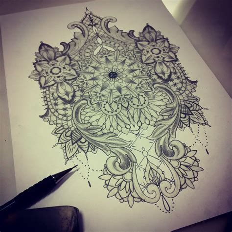 lace pattern tattoo design 60 best lace tattoo designs meanings sexy and stunning