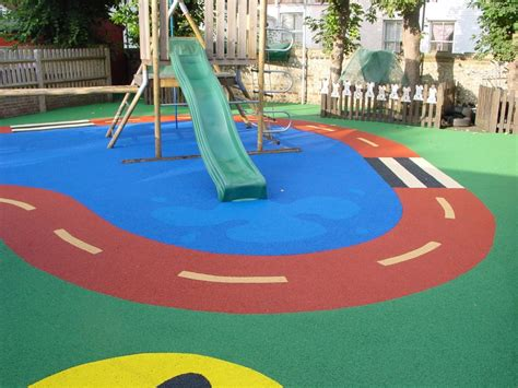 Outdoor Rubber Flooring For Play Area by Enduroturf Synthetic Grass Specialists
