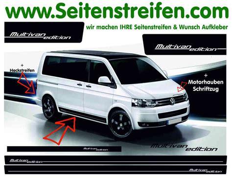 Aufkleber Vw Bus T5 by Vw T4 Bus Multivan Edition Seitenstreifen Aufkleber