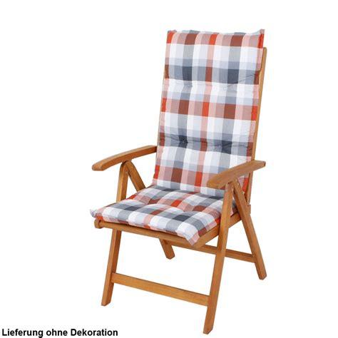 2er set hochlehner auflagen garten mobiliar stuhl polster